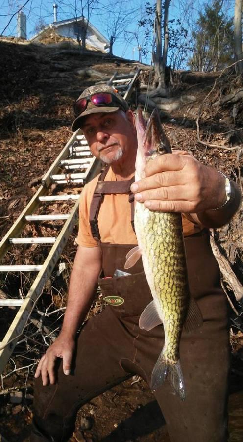 Ladder fishing 1